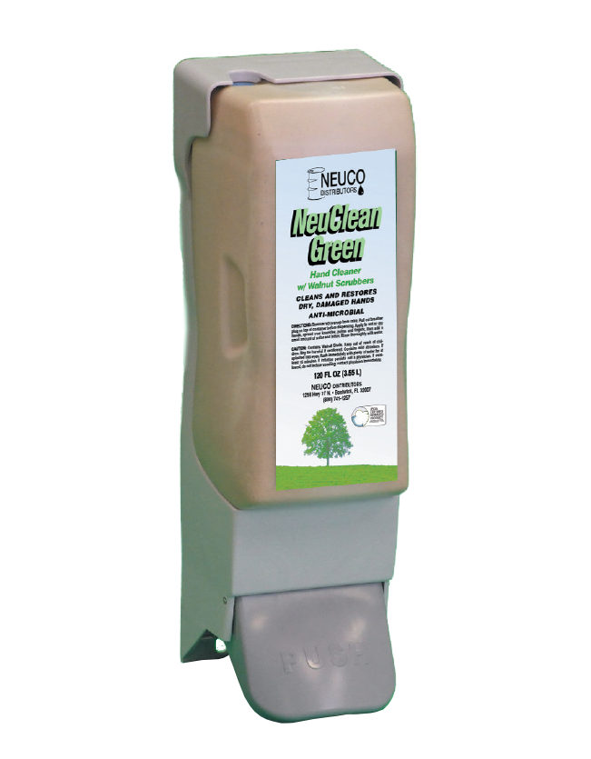 Image of hand cleaner dispenser