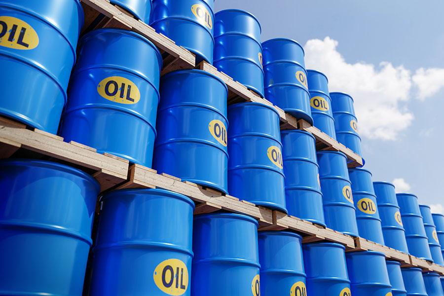Drums of oil
